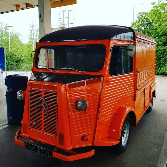 The Van is on the road!