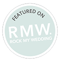 Featured on Rock my Wedding